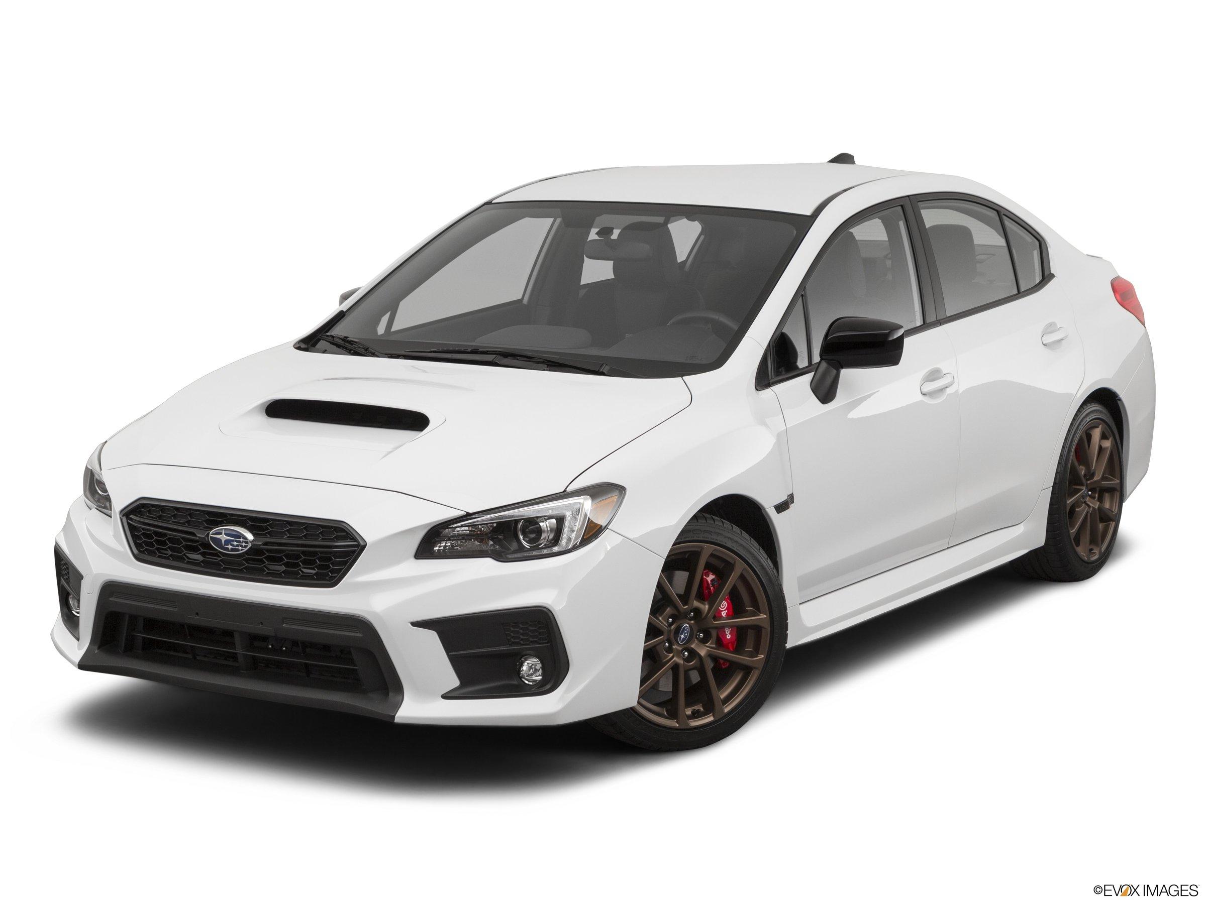 2020 Subaru WRX Series White AWD sedan