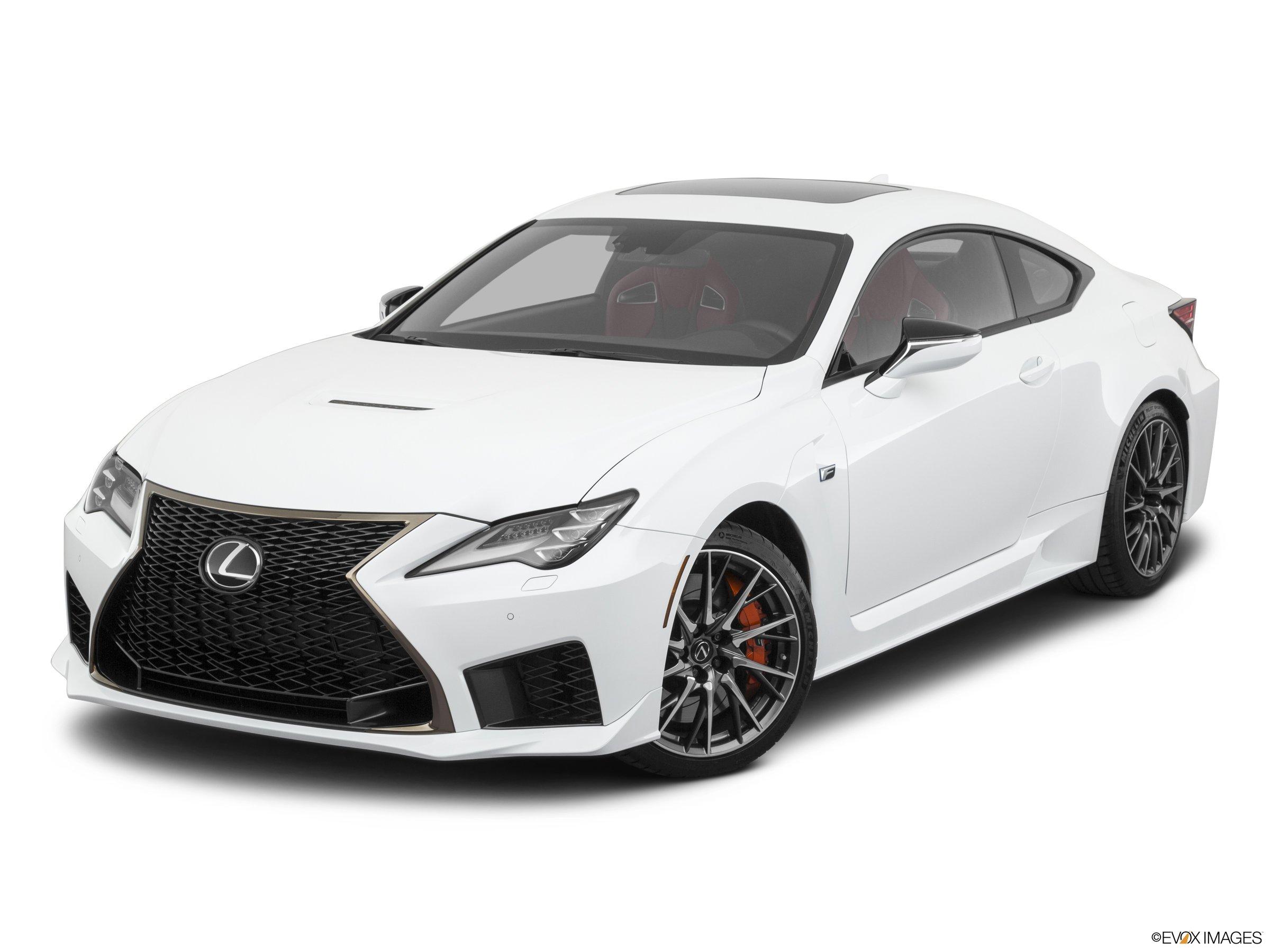 2020 Lexus RC F   RWD coupe