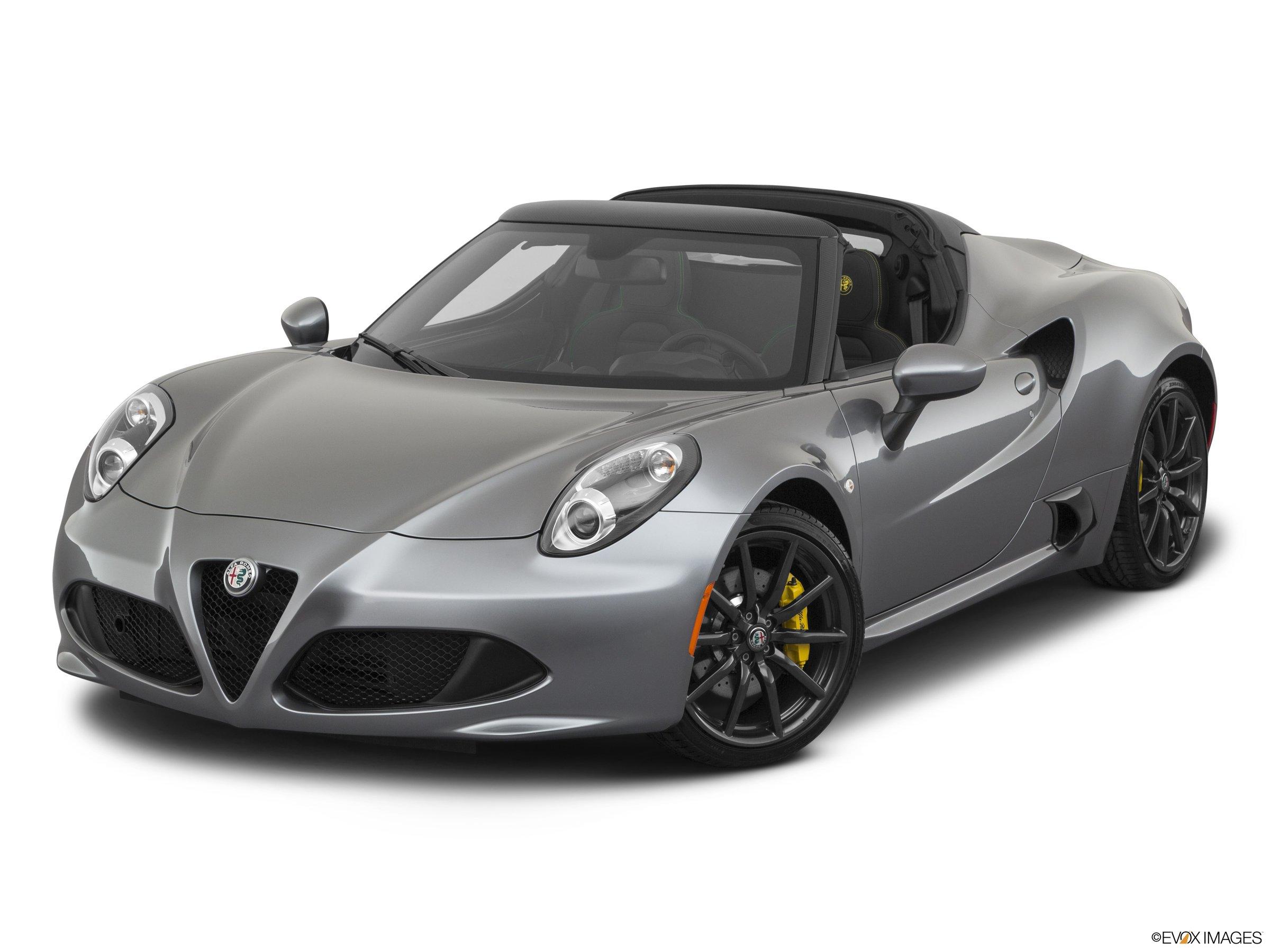 2020 Alfa Romeo 4C Spider  RWD roadster